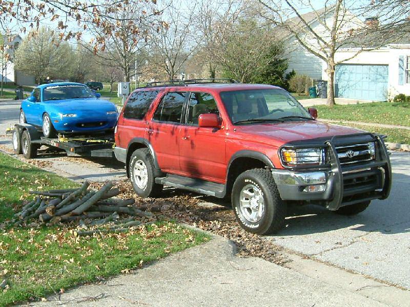 4 Runner >> My 1999 Sunfire Red Toyota 4Runner SR5